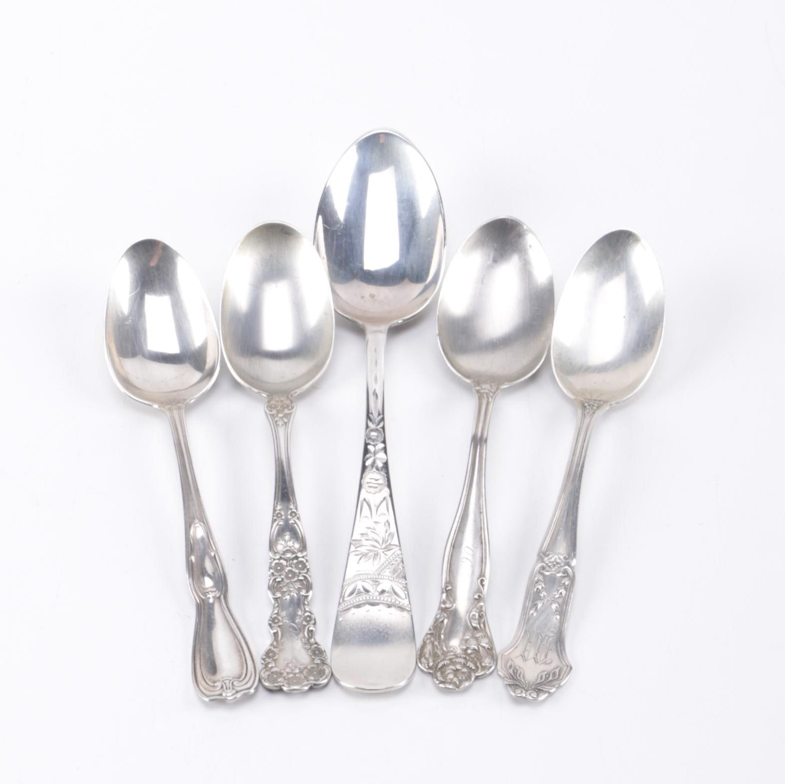 "Gorham ""Buttercup"" and Other Sterling Spoons"