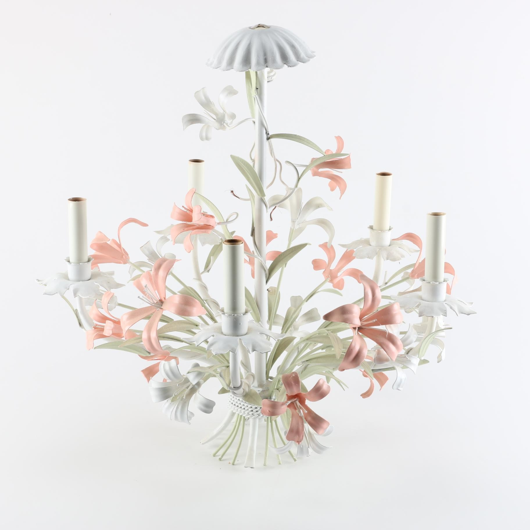 Floral Light Fixture