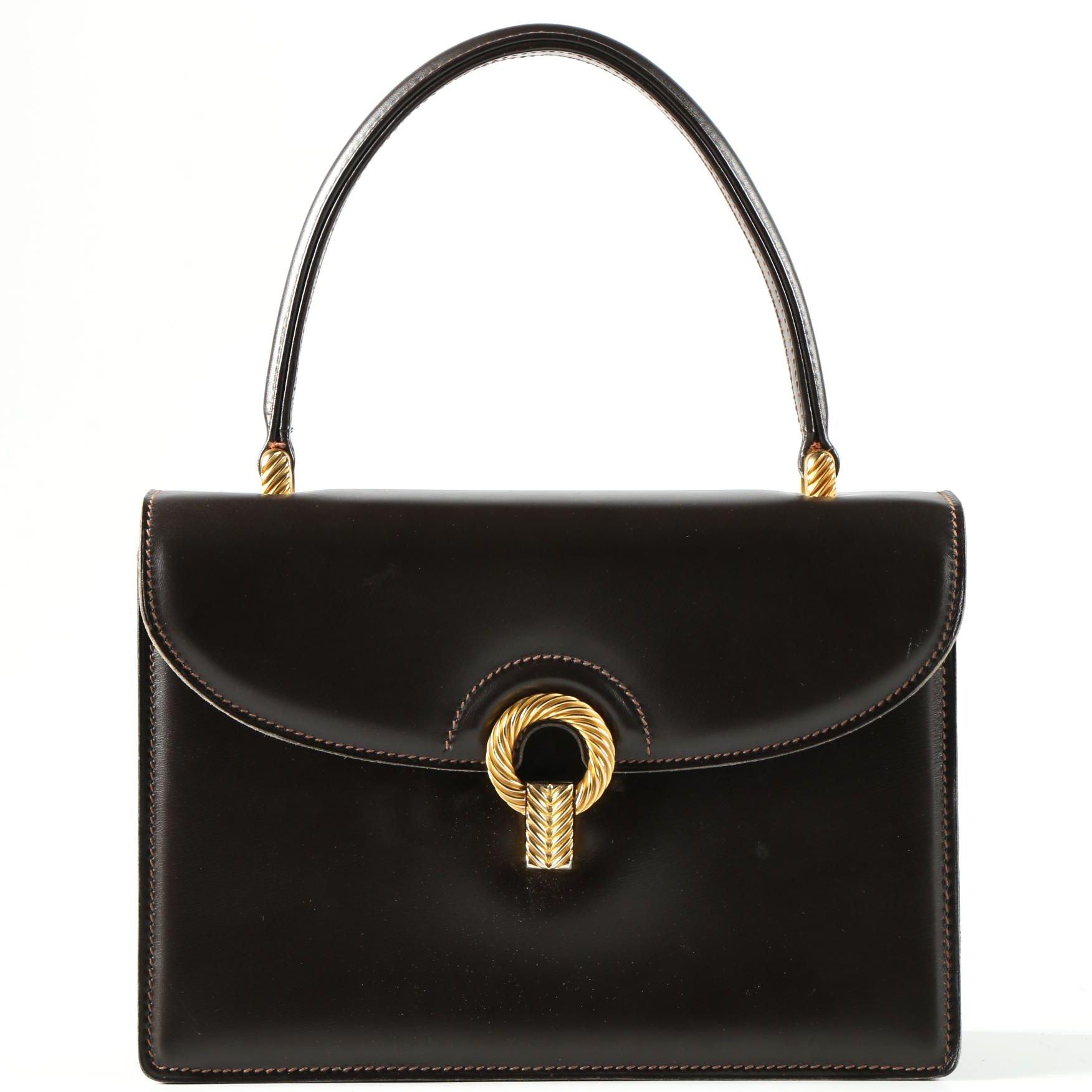 Vintage Gucci Top Handle Handbag