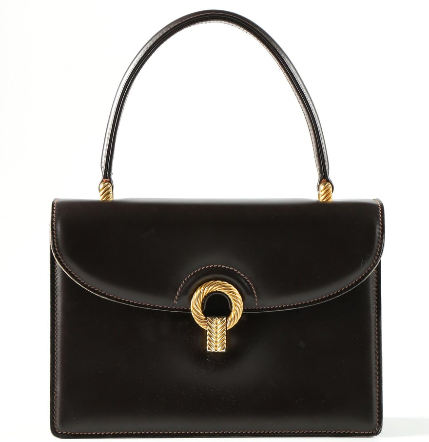 dcf989081a60 Vintage Gucci Leather Handbags   Stanford Center for Opportunity ...