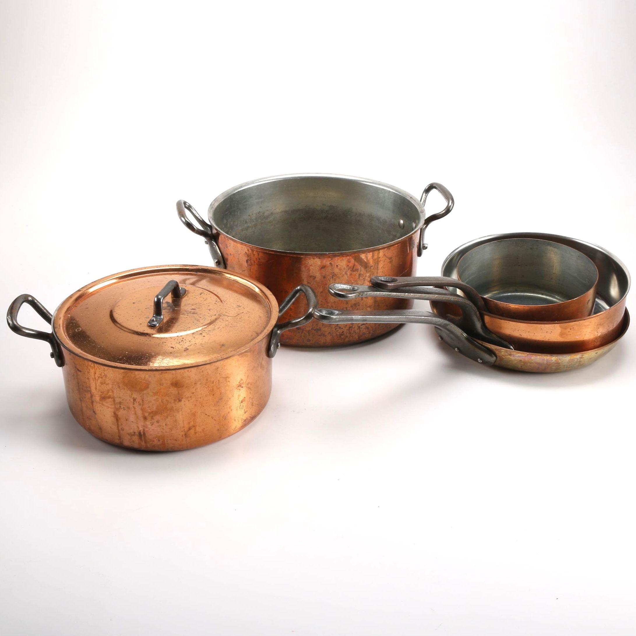 Copper Finish Cookware