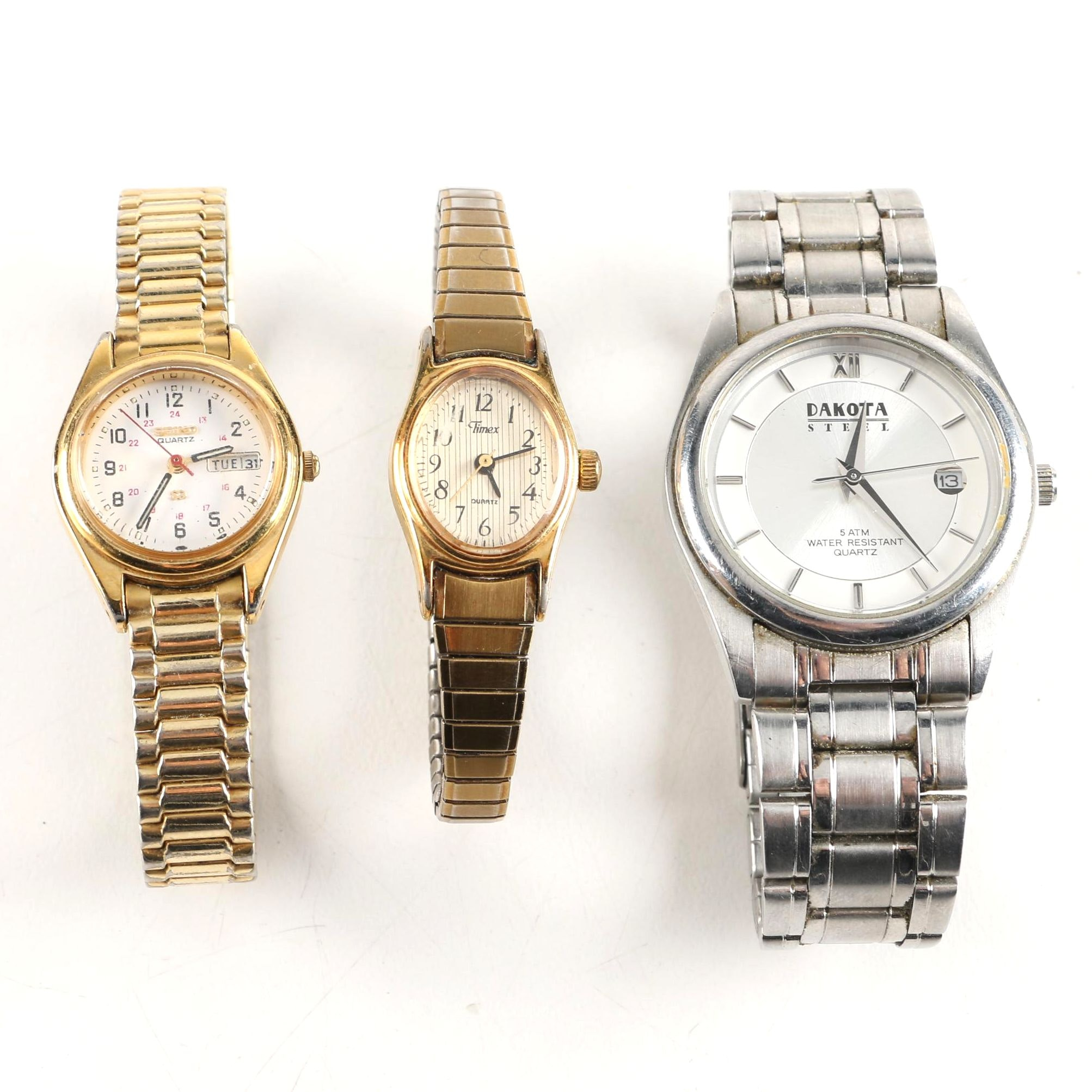 Wristwatches Including Timex