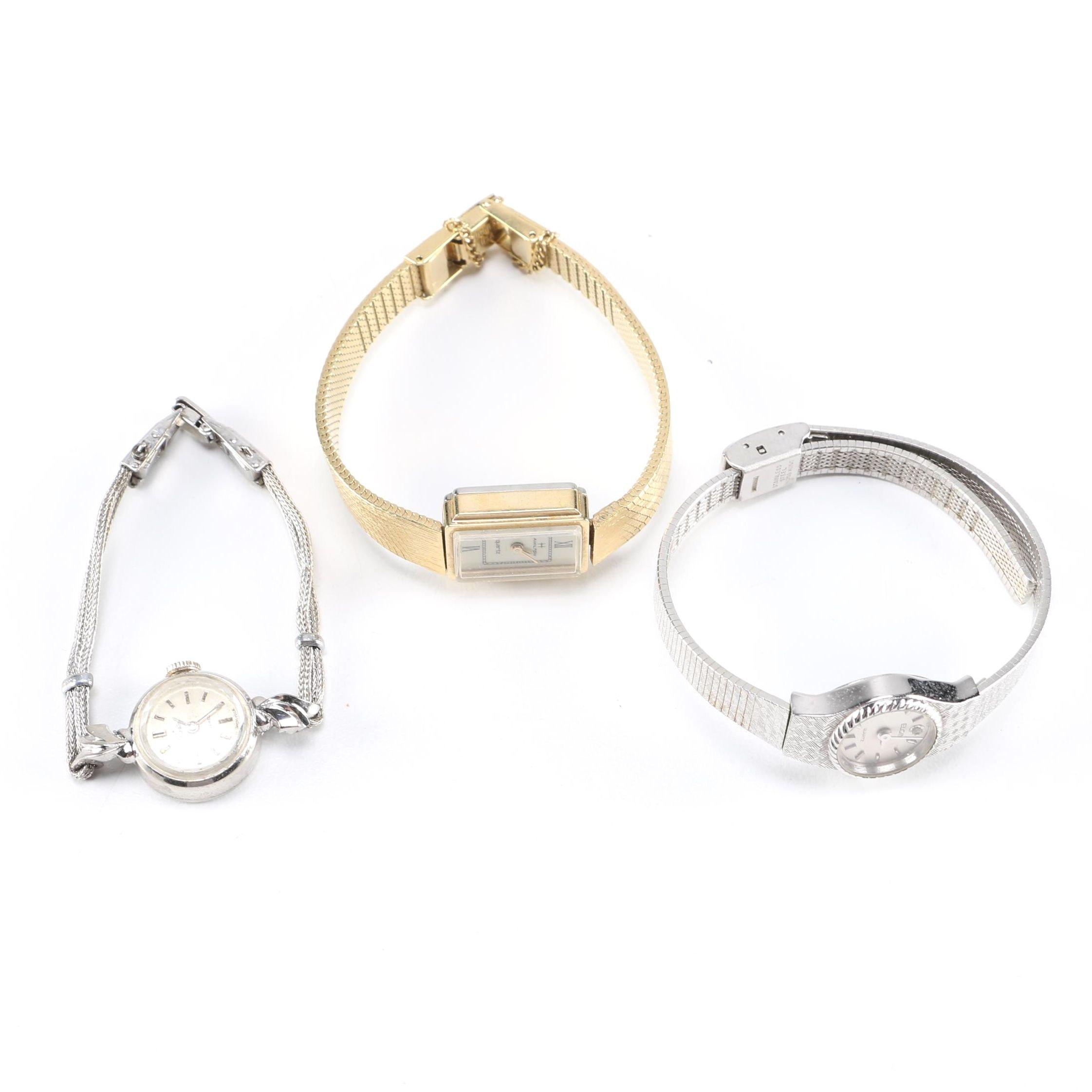 Vintage Wristwatches Including Elgin