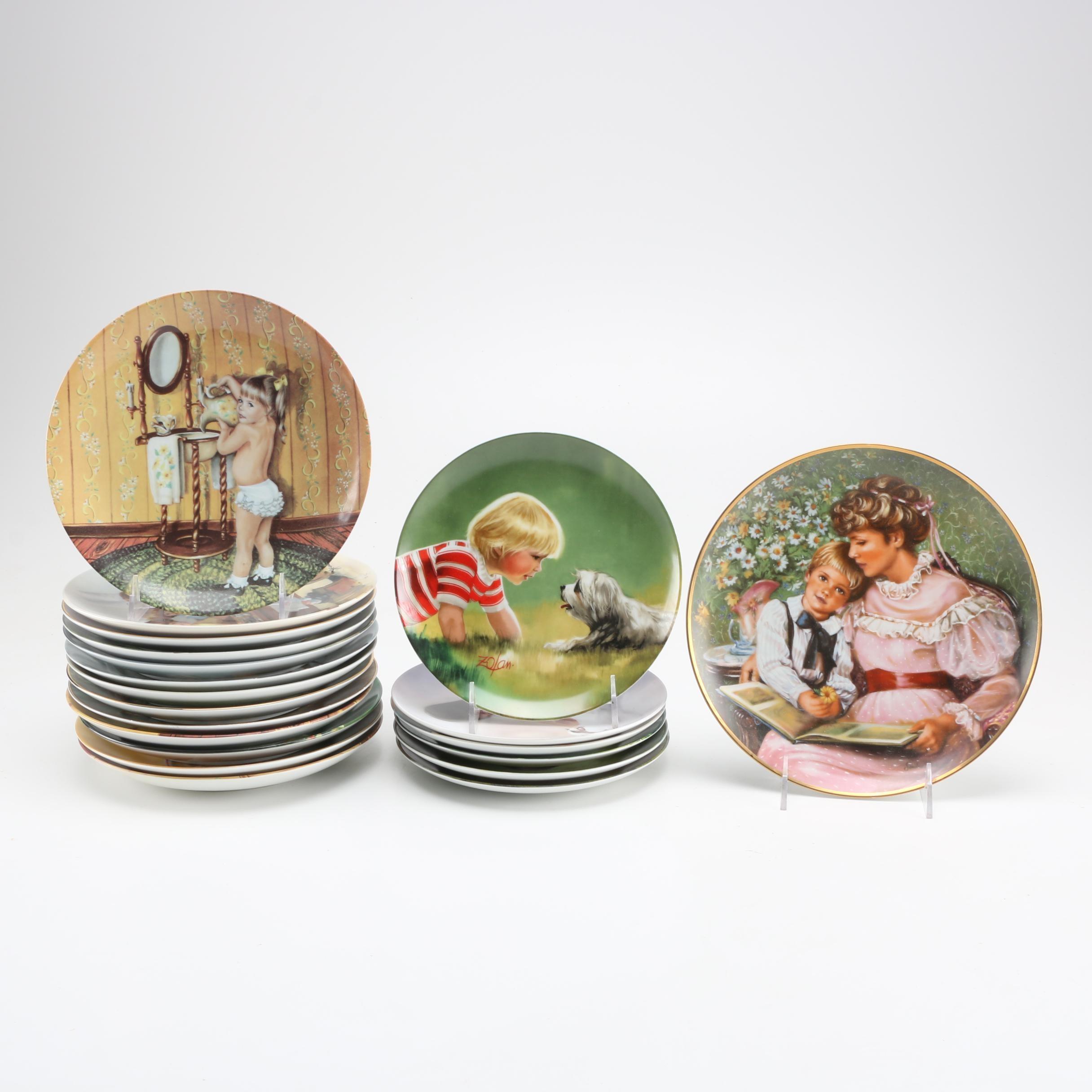 Circa 1980s Collectible Plate Assortment