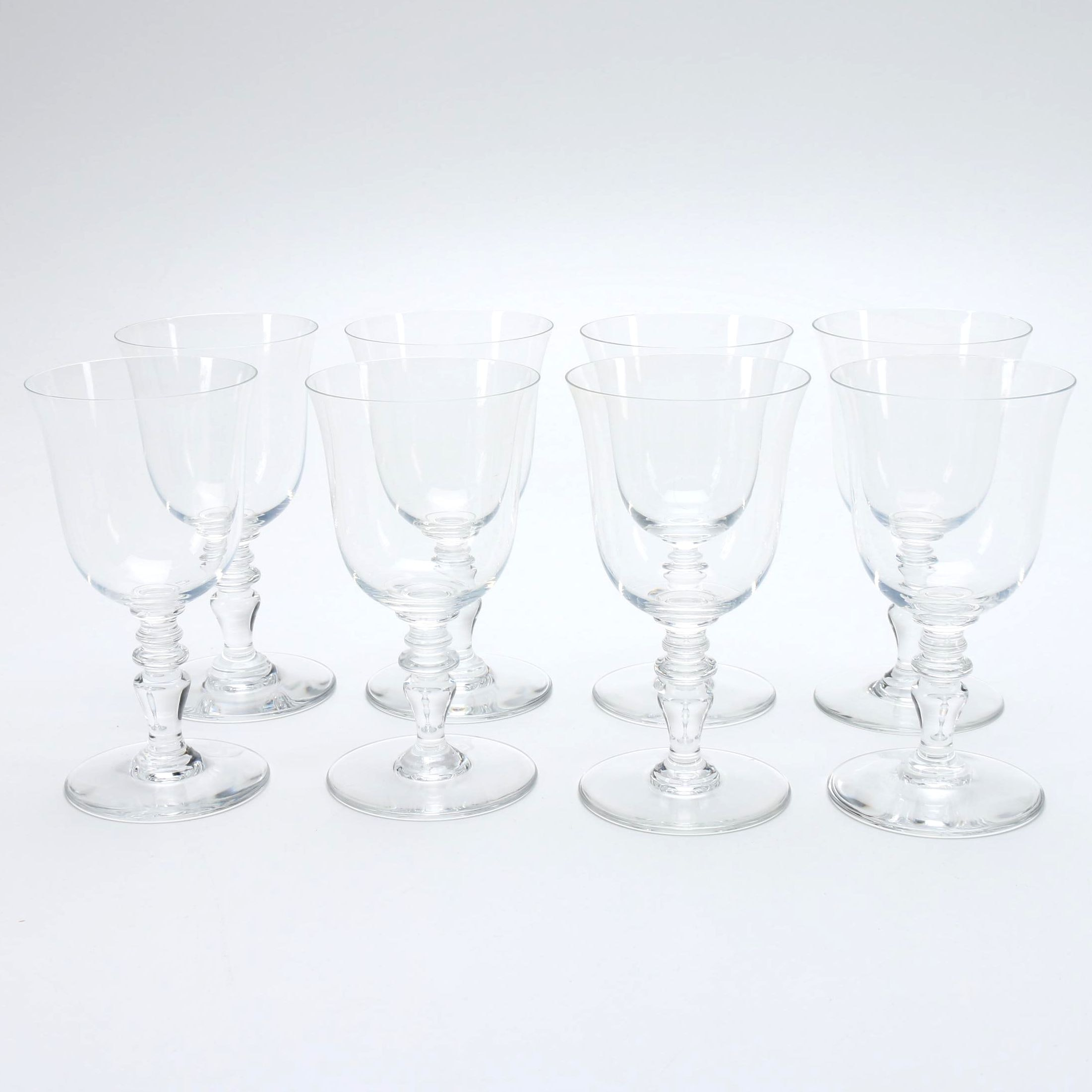 """Baccarat """"Provence"""" Crystal Water Goblets"""