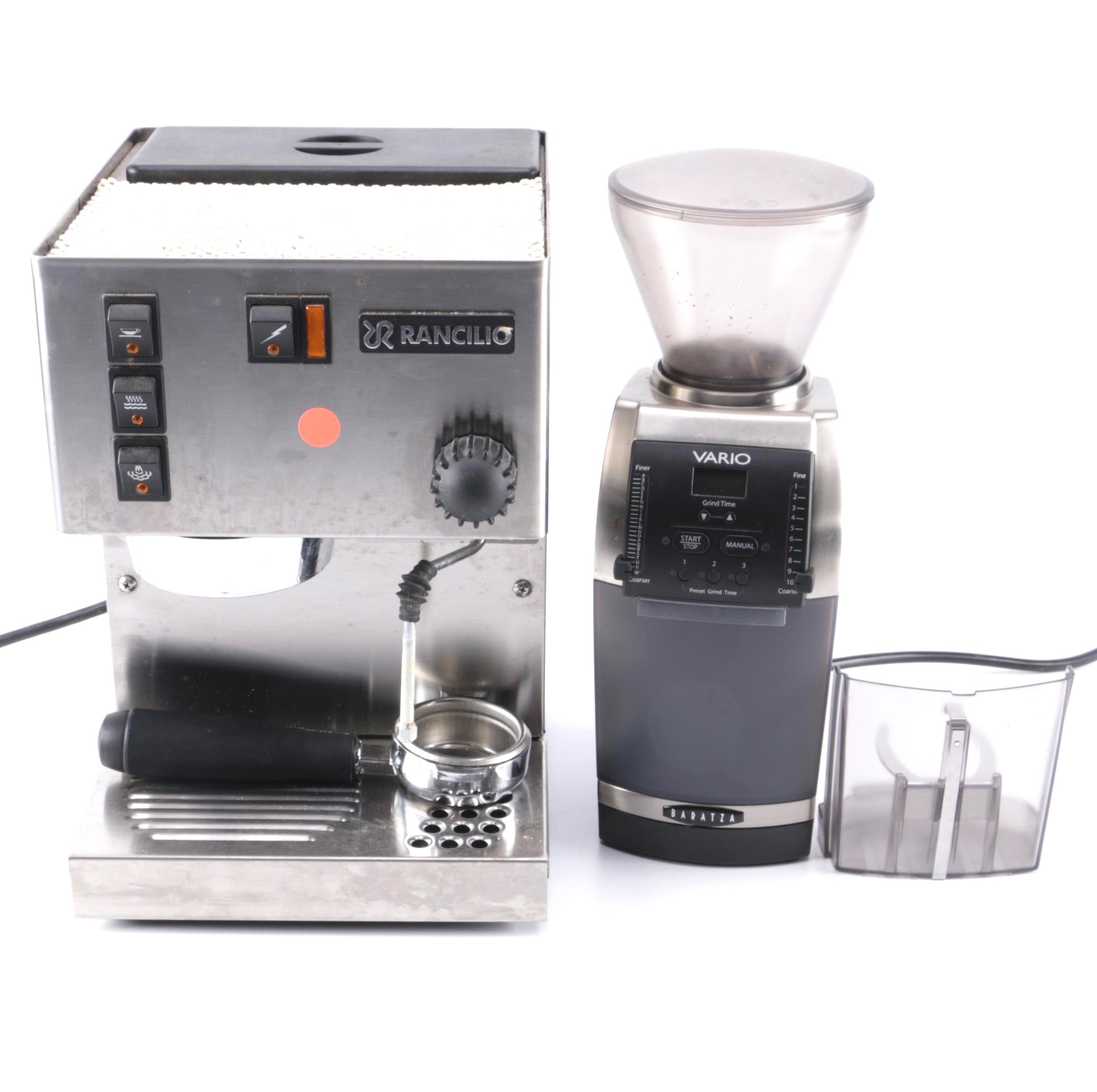 Rancilio Silvia Espresso Machine and Baratza Vario Grinder