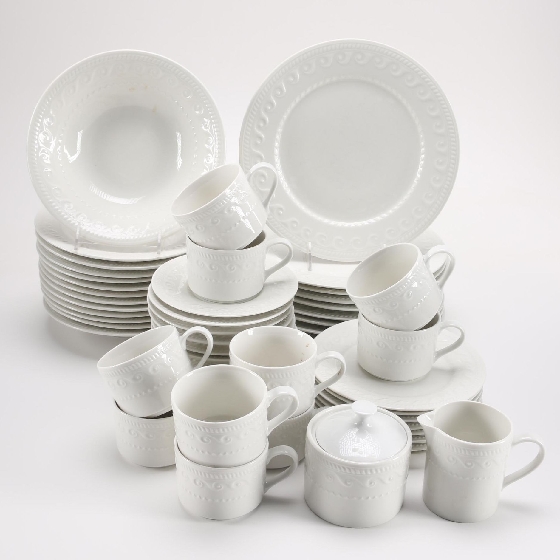 Sango Cachet Stoneware Dinner Set EBTH & Marvellous Sango Dinnerware Sets Pictures - Best Image Engine ...
