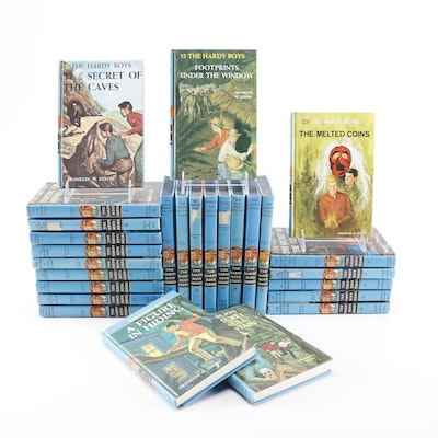 """Hardcover """"Hardy Boys"""" Book Collection"""