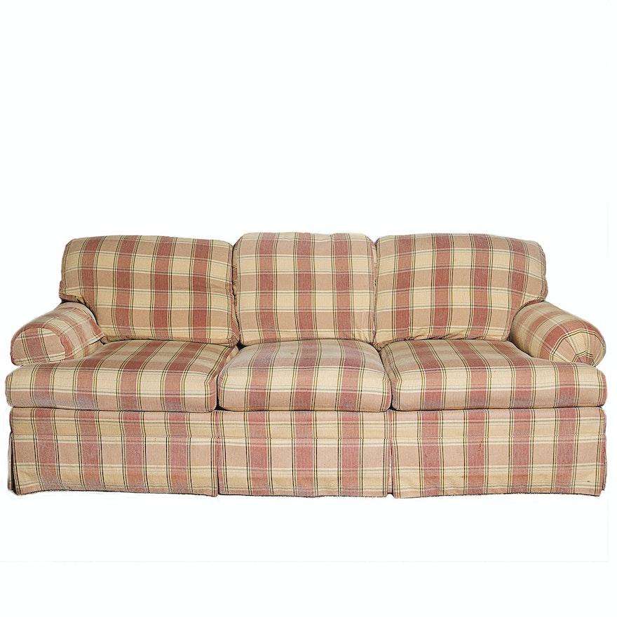 Plaid sofa furnitures plaid sofa elegant uhuru furniture - Plaid para sofa ...