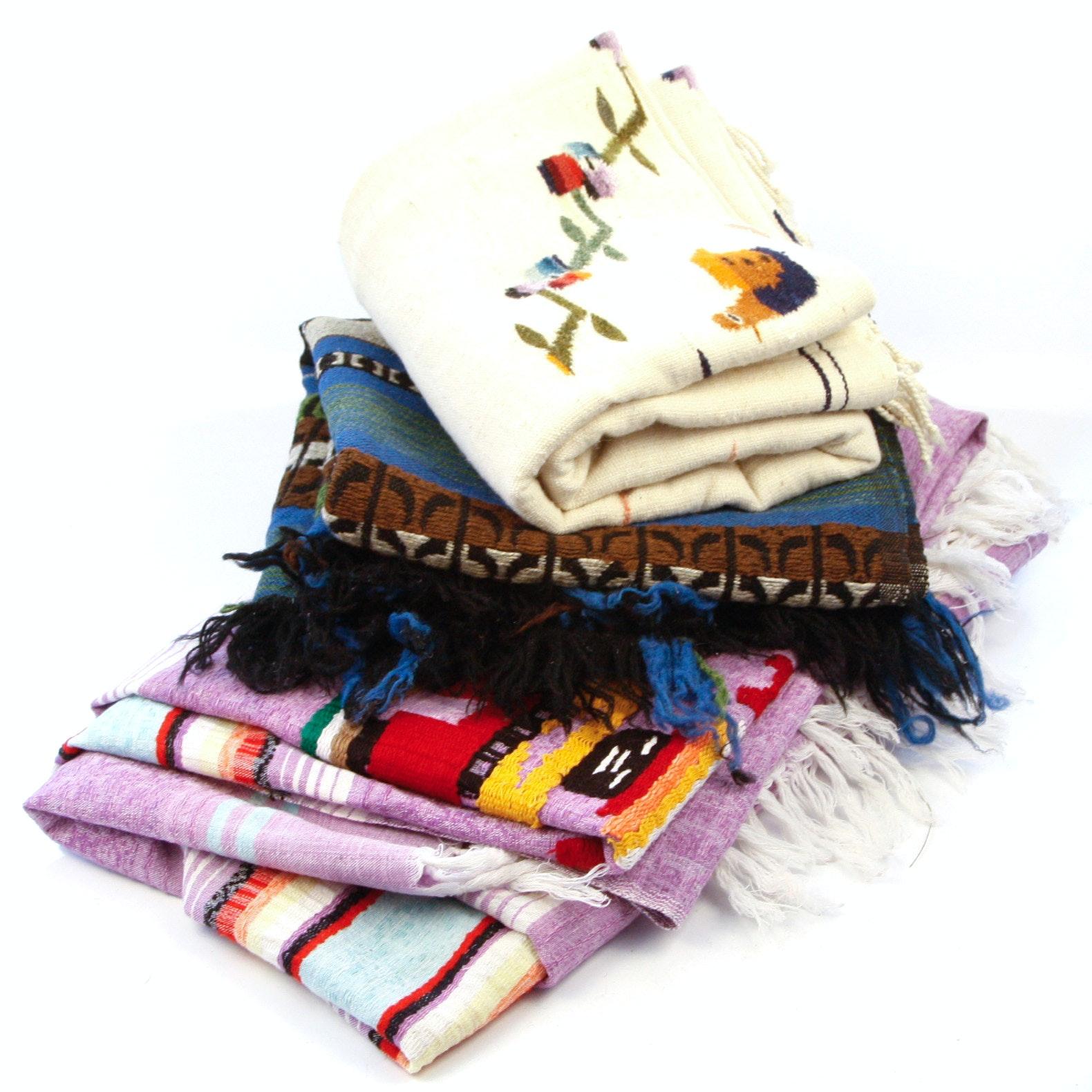 Handmade Wool and Linen Textiles