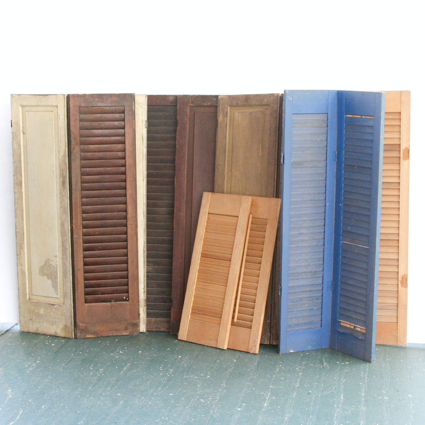 Group of Wooden Shutters