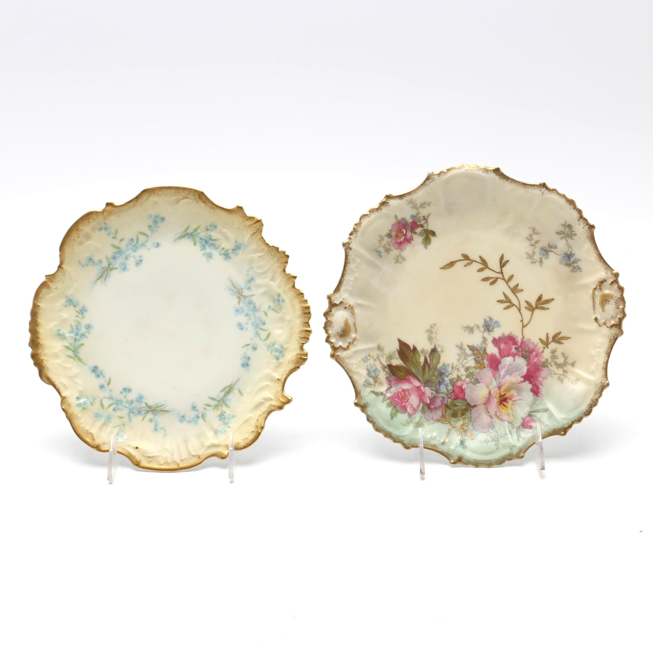 Pair of Limoges Plates
