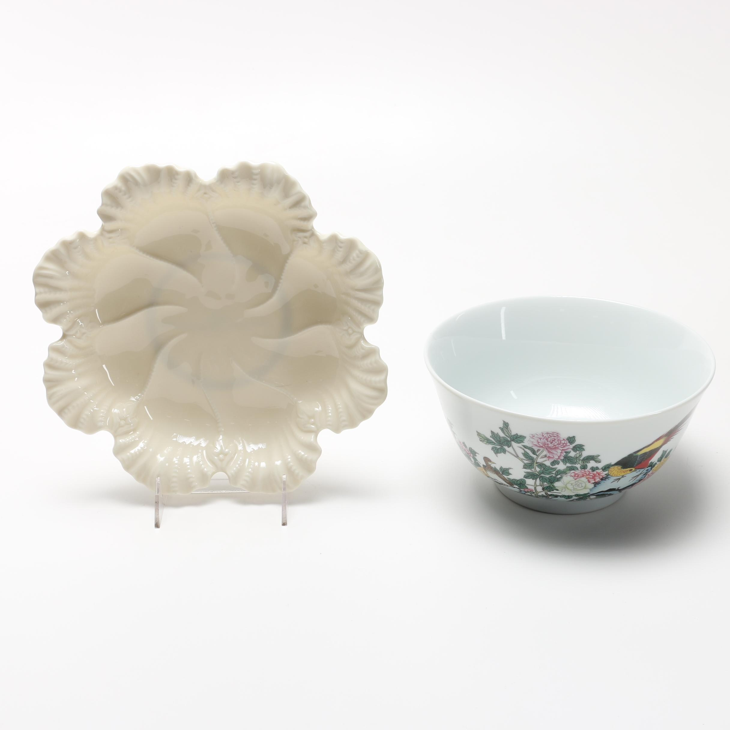 Lenox Dish and Bowl