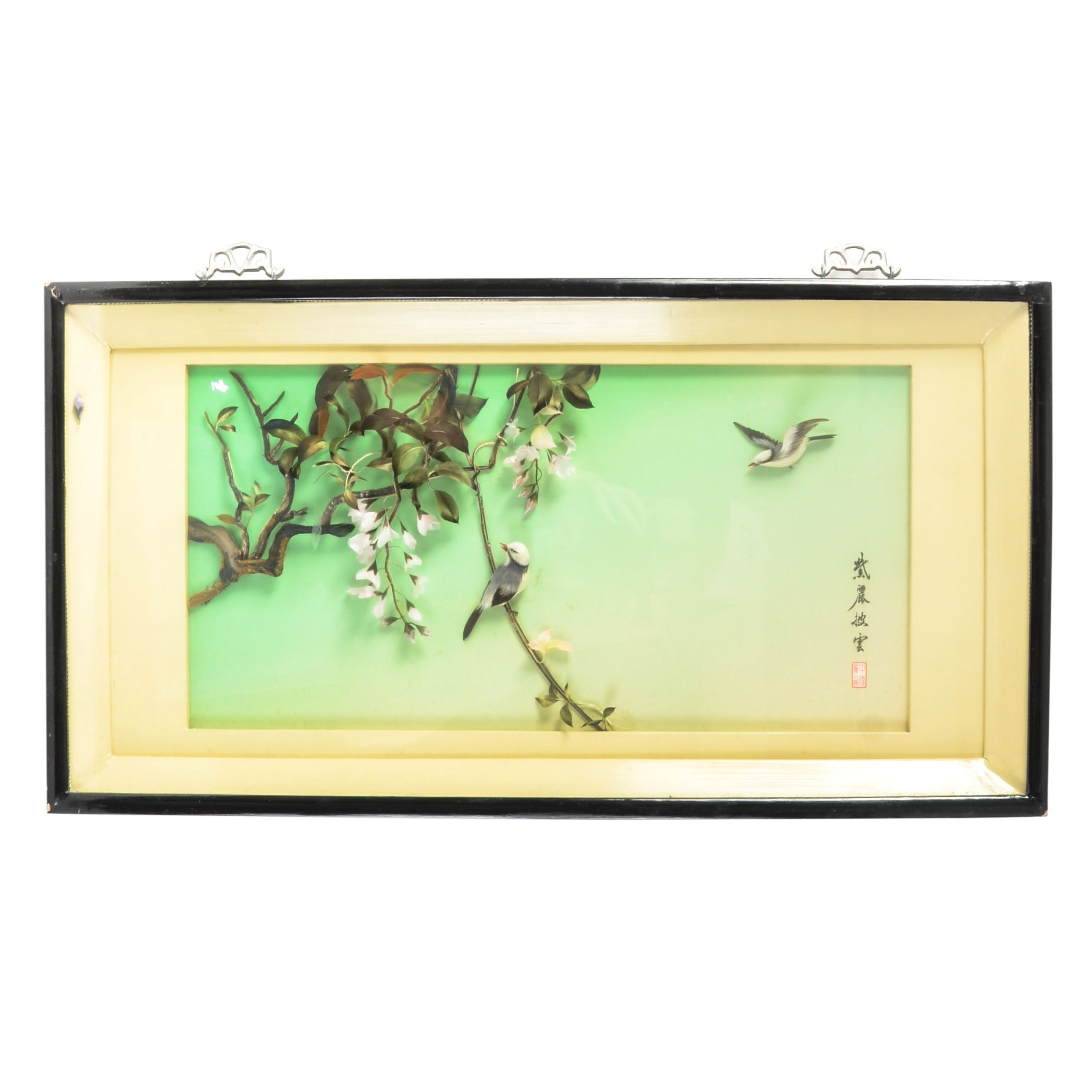 Chinese Framed Diorama