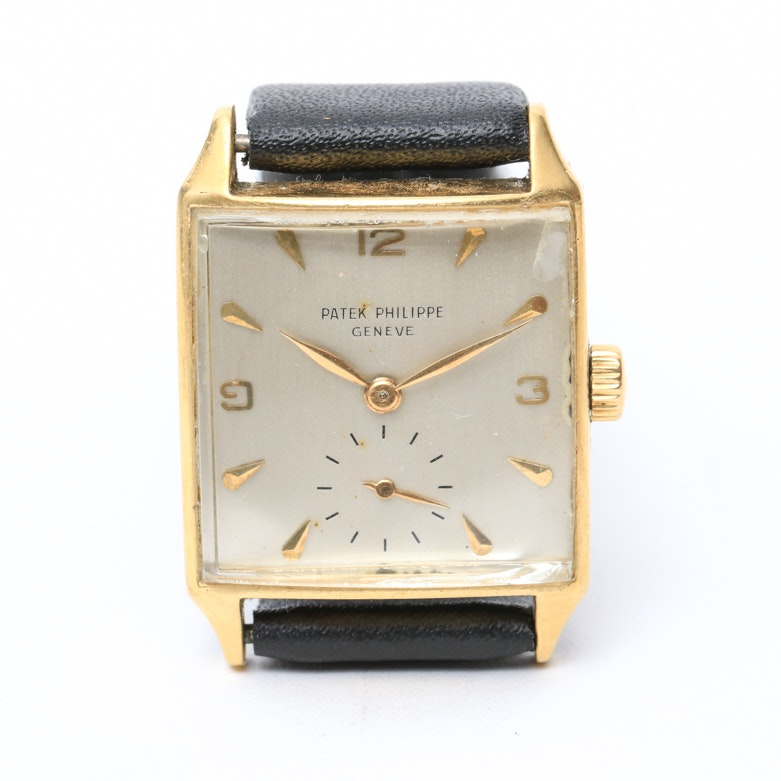 Patek Philippe 18K Yellow Gold Geneve Wristwatch