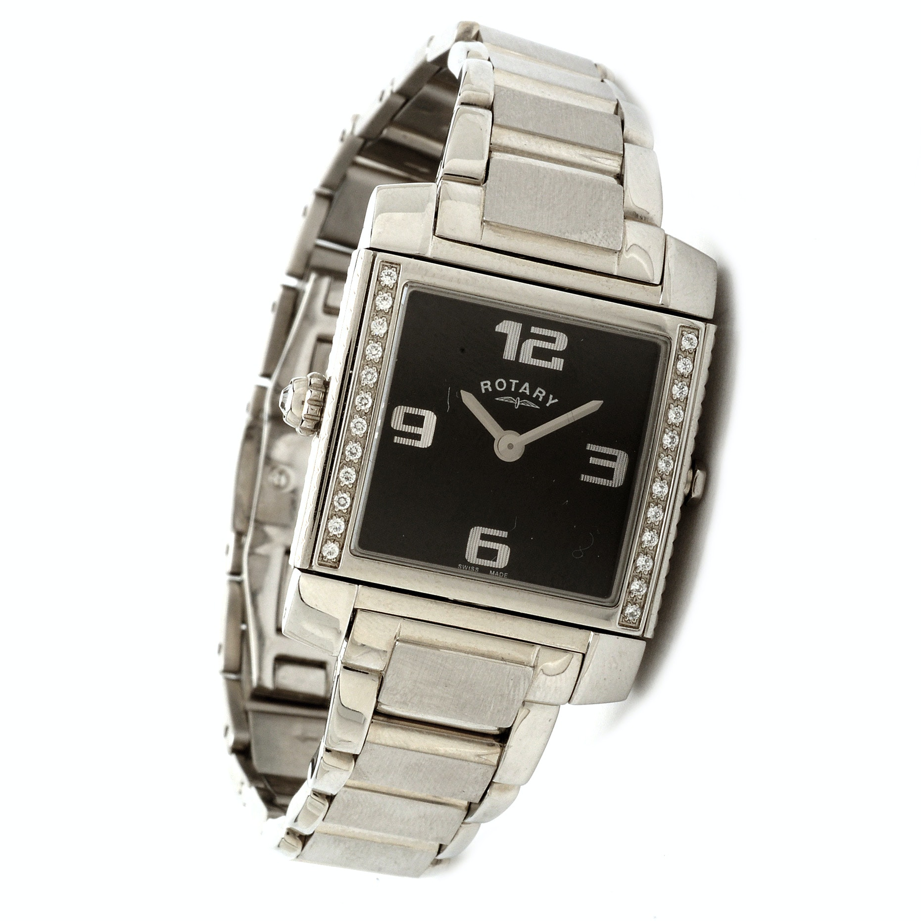 Rotary Revelations Stainless Steel Wristwatch
