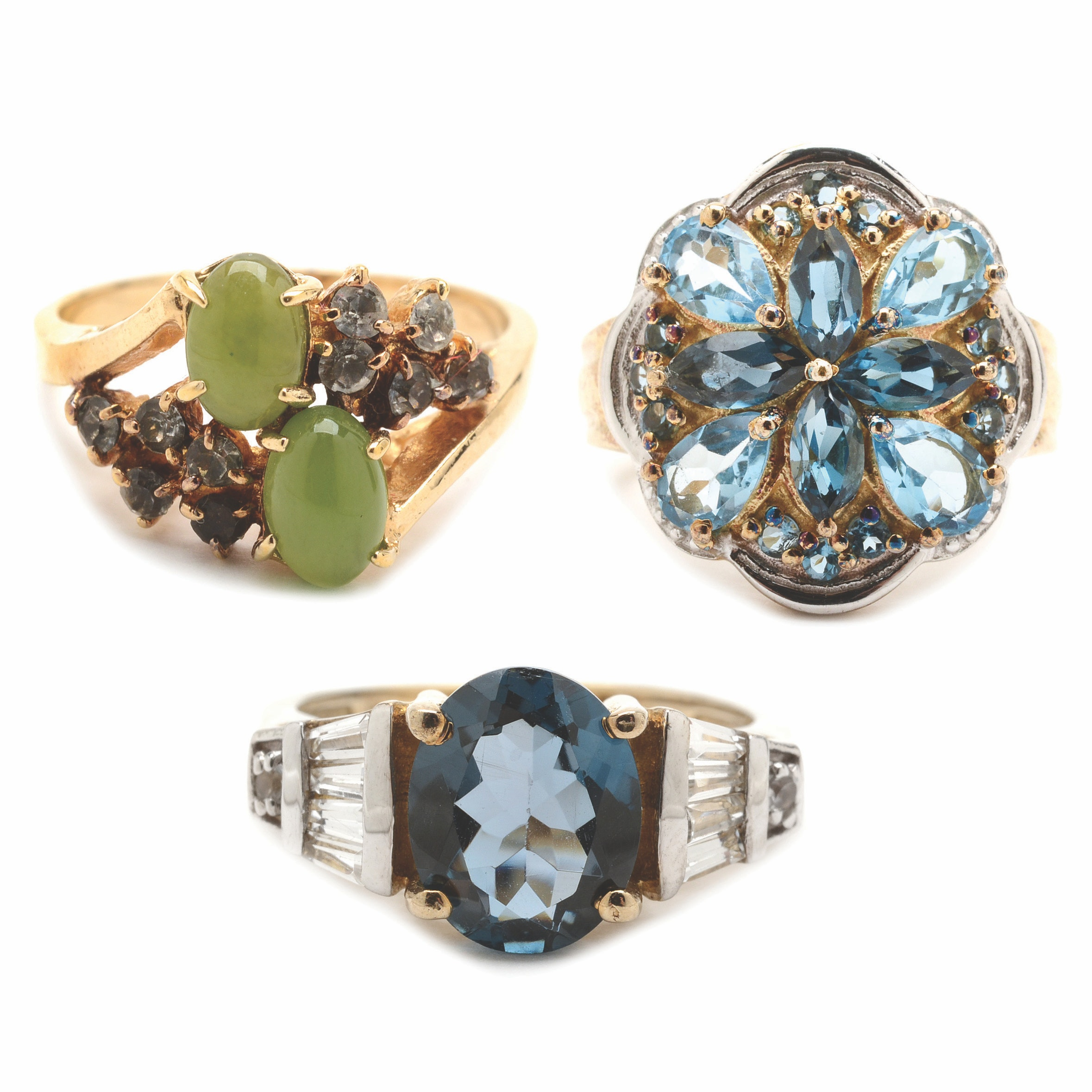 Vermeil Sterling Silver Rings and More