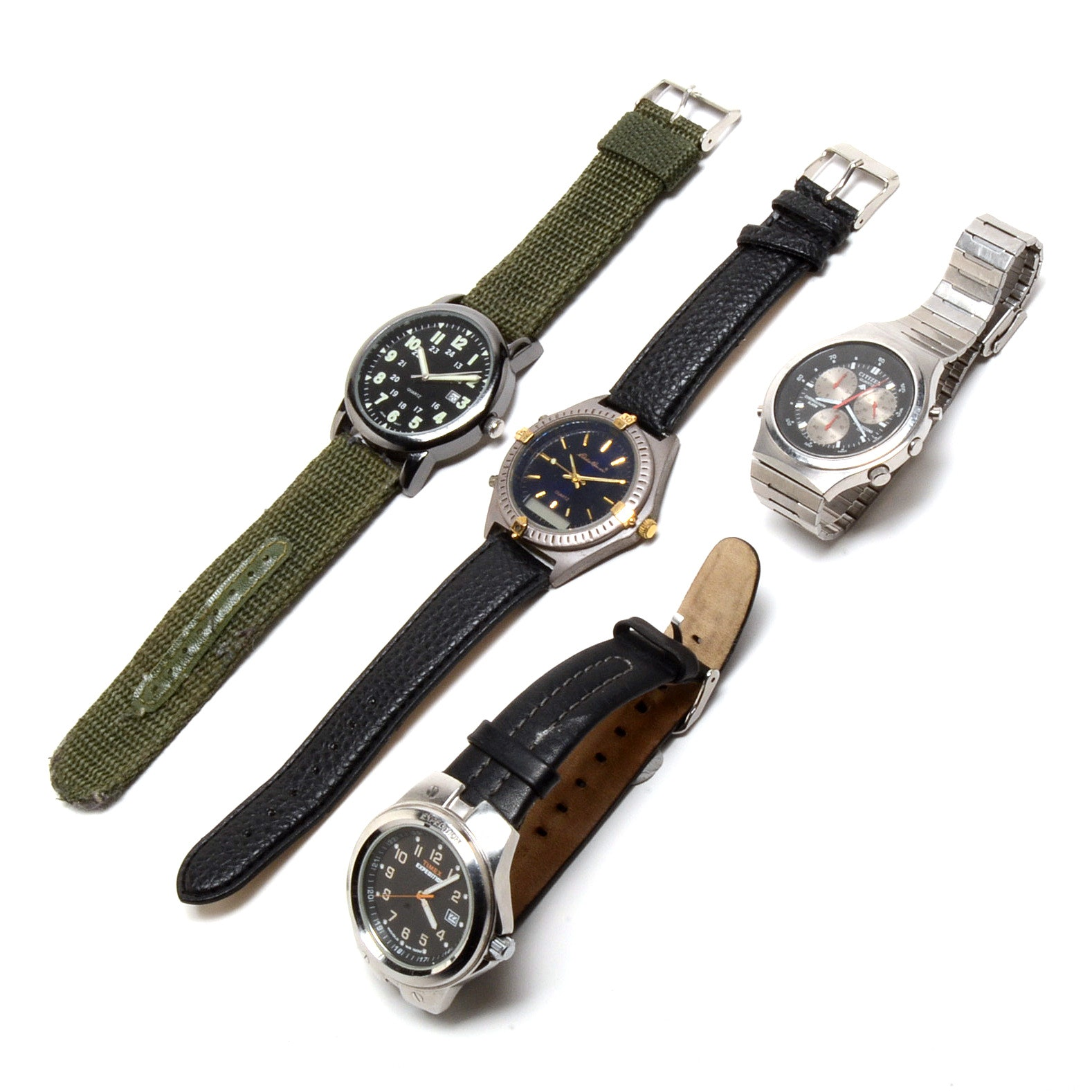 Sports Wristwatches Including Citizen