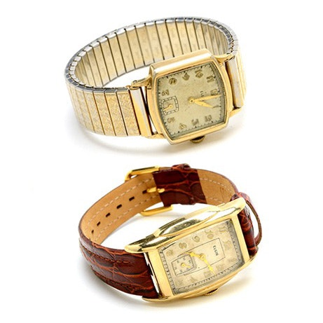 1930s Elgin 10K Gold Filled Wristwatches