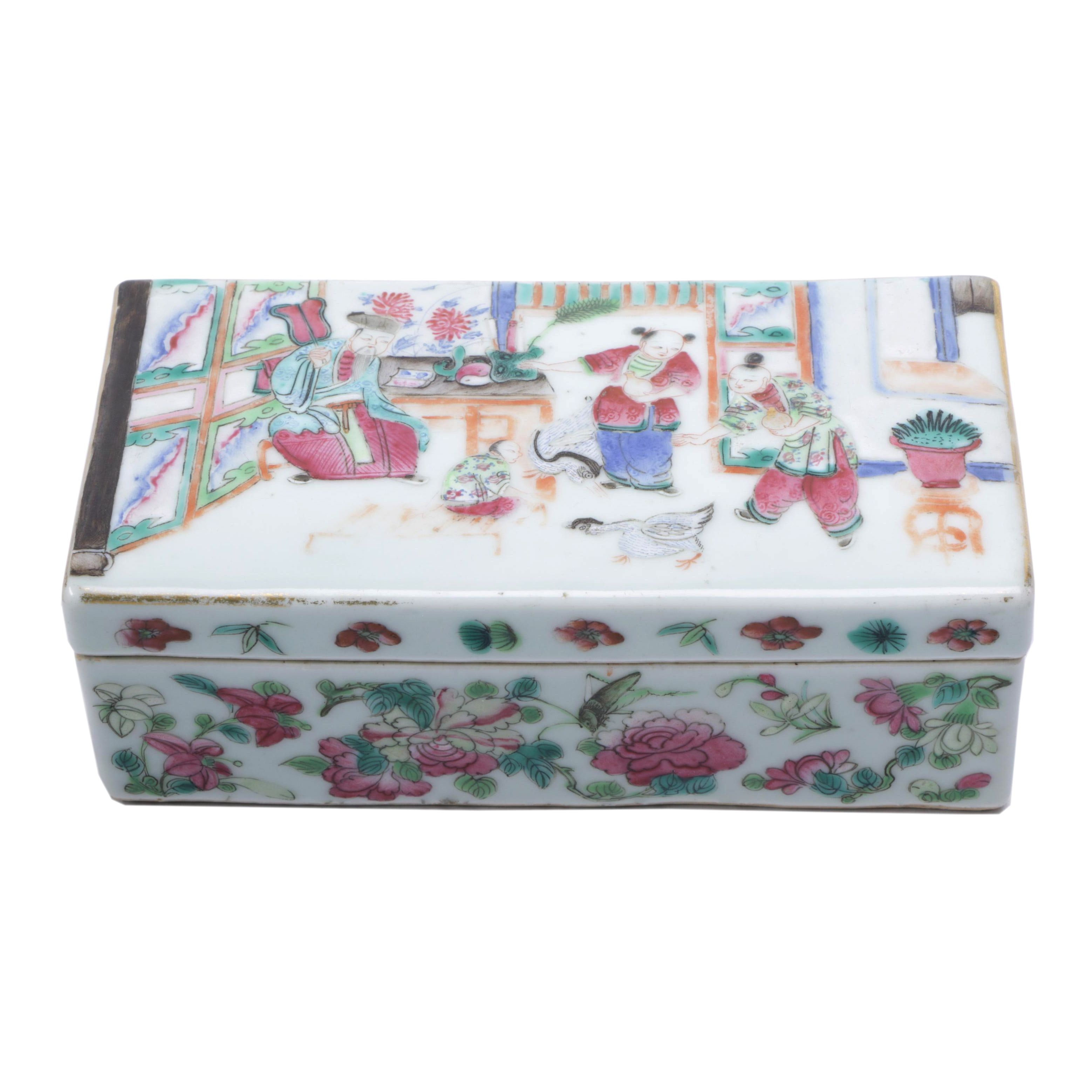 Chinese Porcelain Box