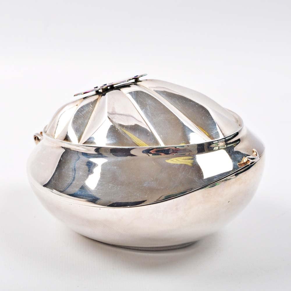 Joan Miller-Hubbard Sterling Silver Trinket Box