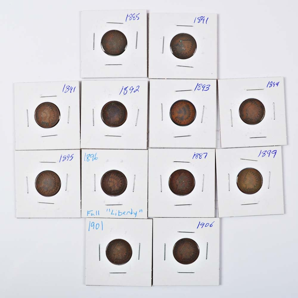 Indian Head Cent Collection