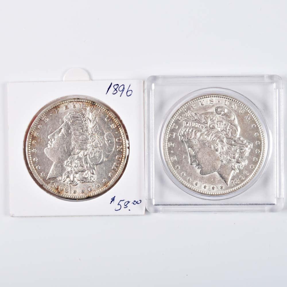 1896 Morgan Silver Dollars
