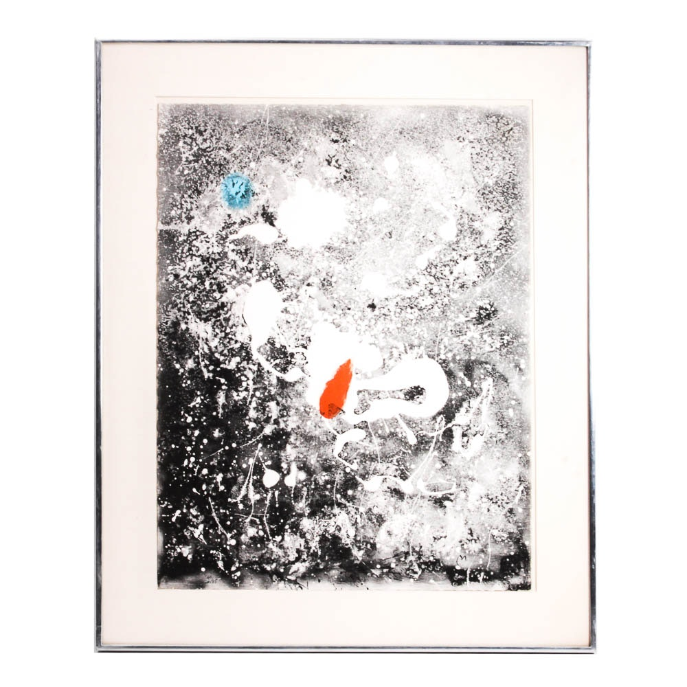 "Joan Miró Limited Edition Lithograph ""Album 19"""
