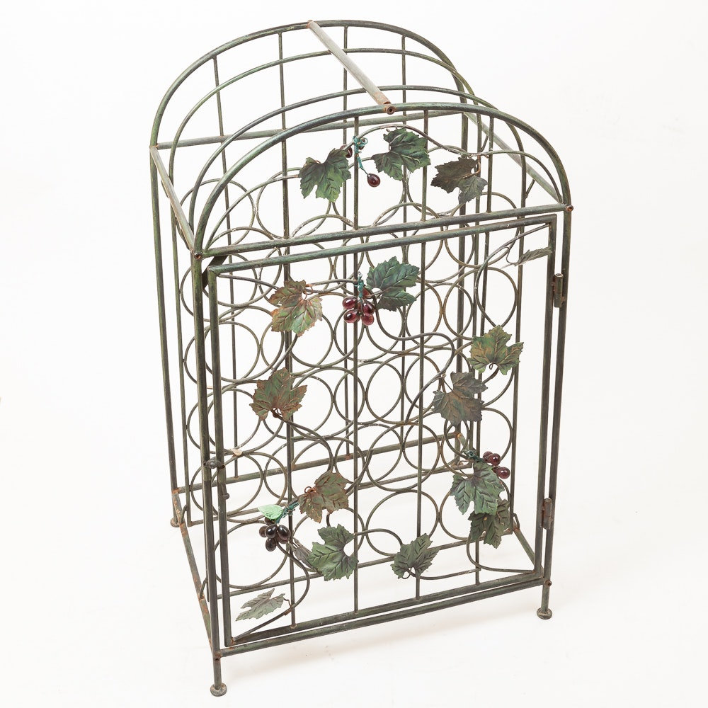 Caged Wine Rack