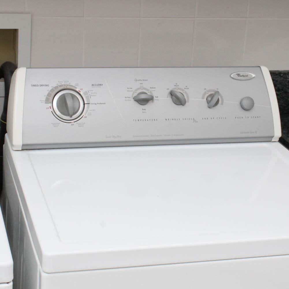 "whirlpool gold ""ultimate care ii"" dryer : ebth"