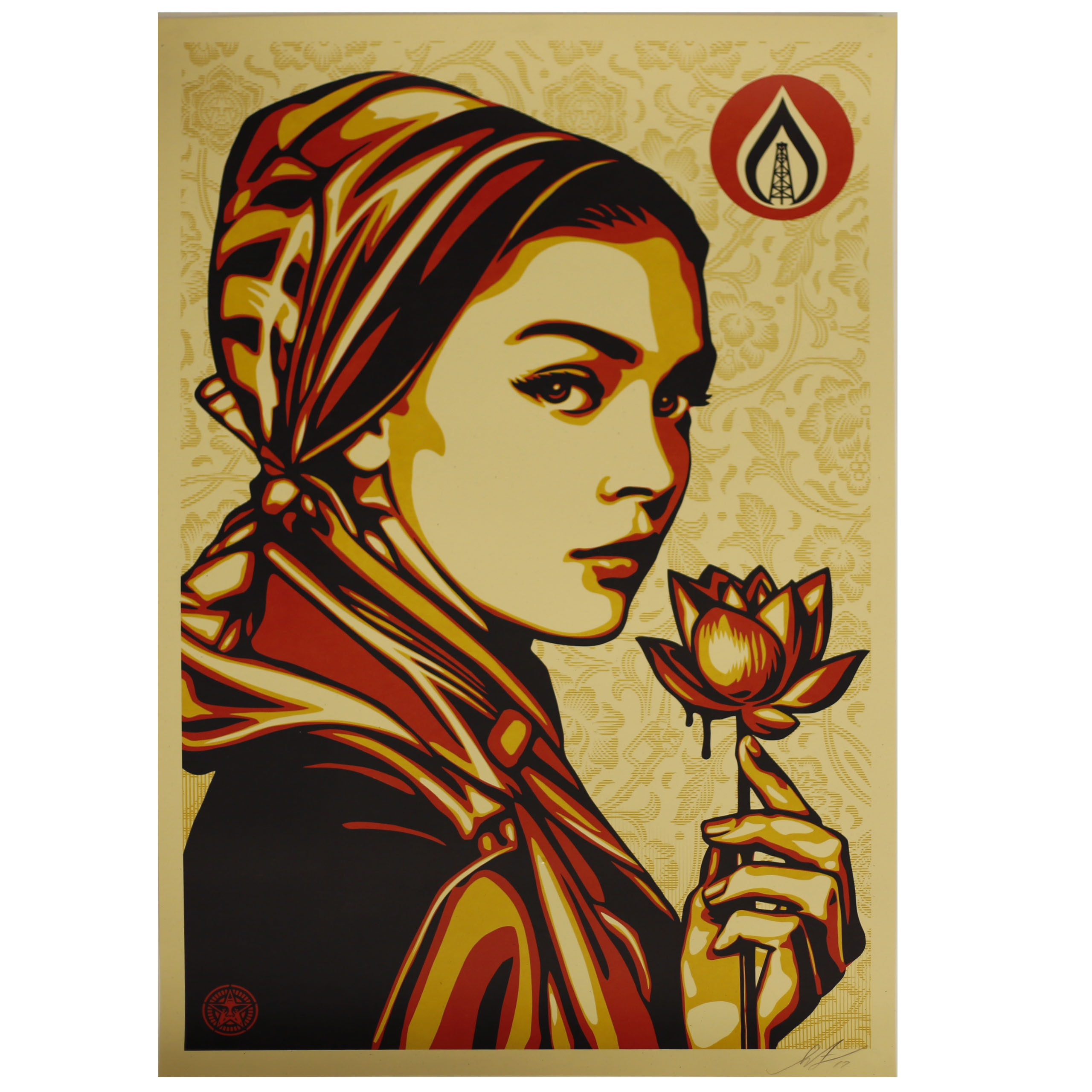 "Shepard Fairey Signed 2017 Giclée ""Natural Springs"""