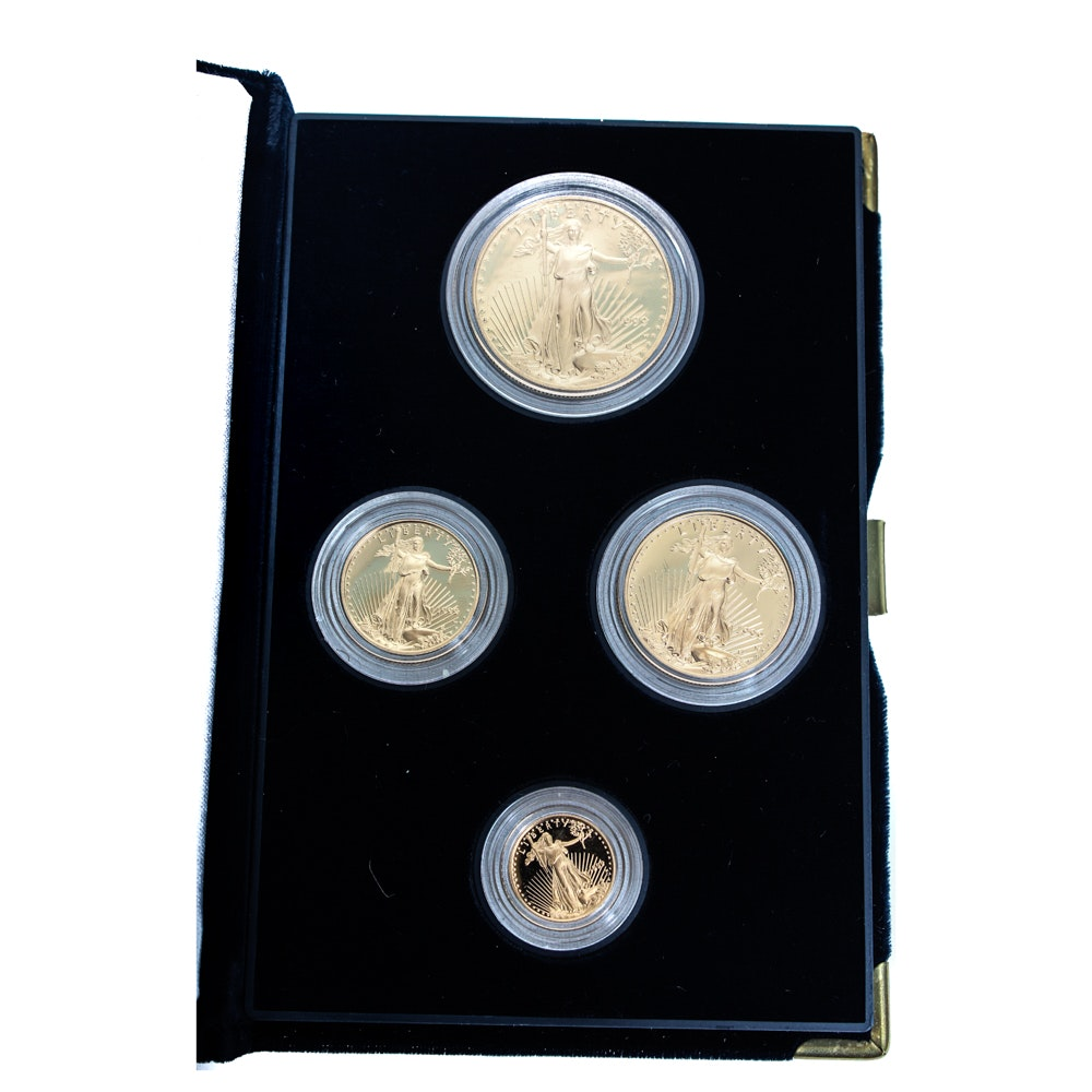 1999 American Eagle Gold Bullion Coins Proof Set