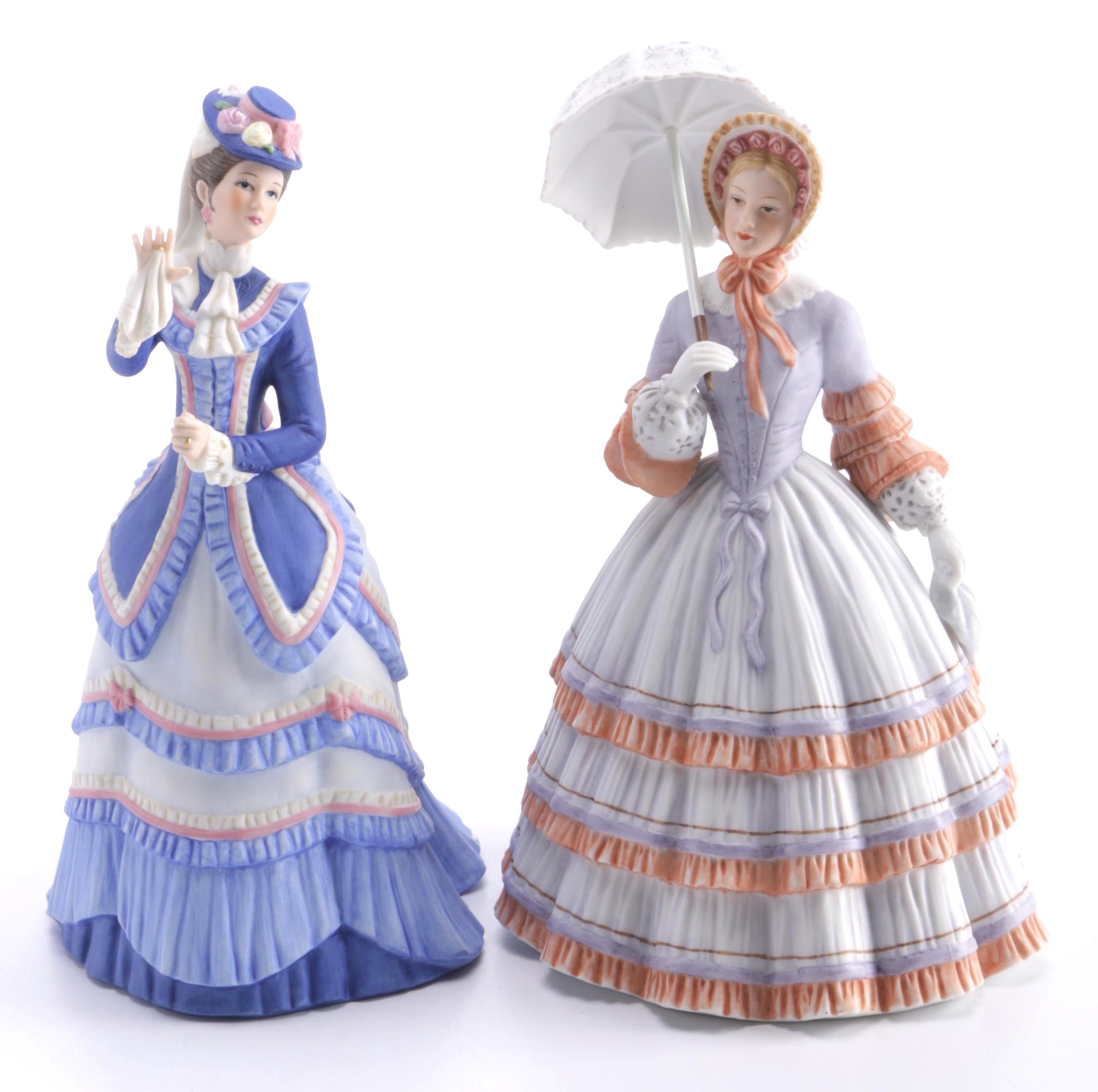 """Lenox """"Grand Tour"""" and """"Springtime Promenade"""" Figurines"""