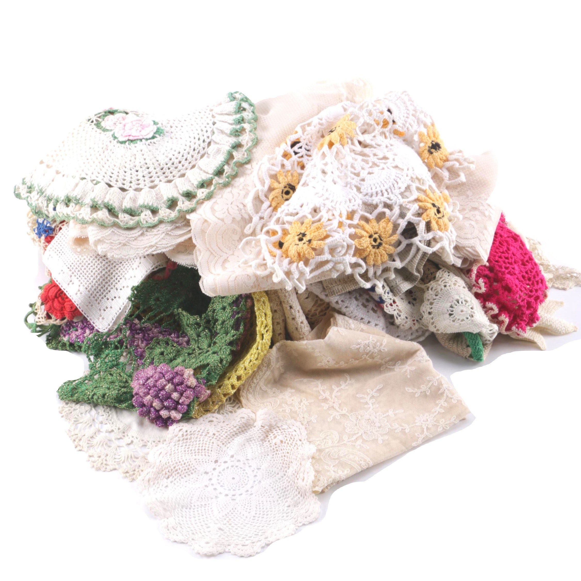 Doilies and Lace Linens