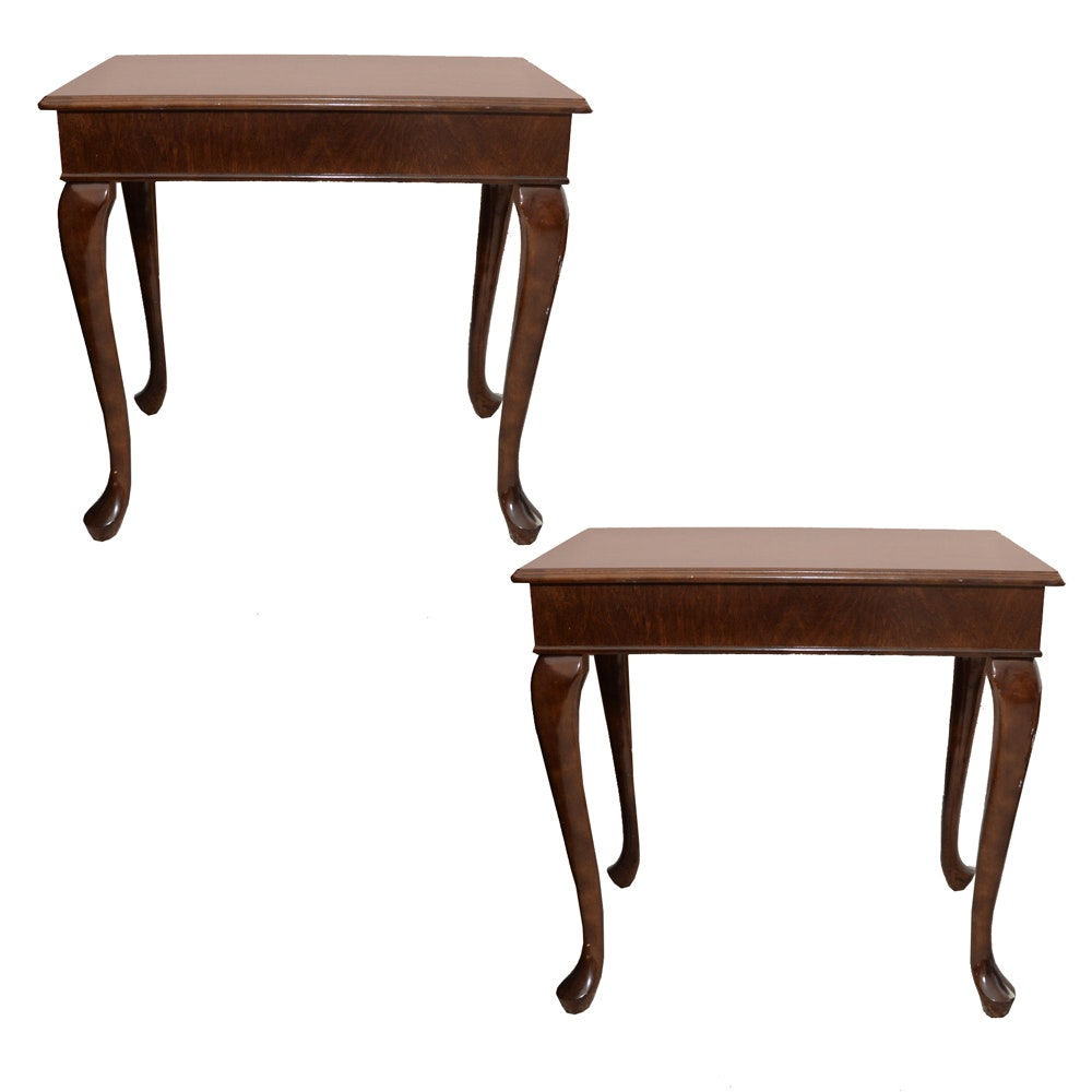 Queen Anne Style Side Tables ...