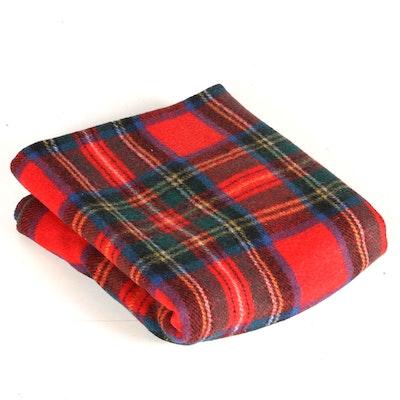 Wool Throw Blanket