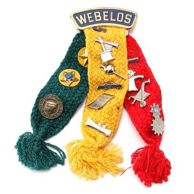 Webelos Boy Scout Pins