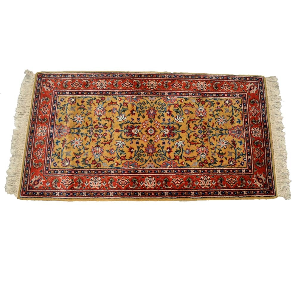 Persian Style Accent Rug
