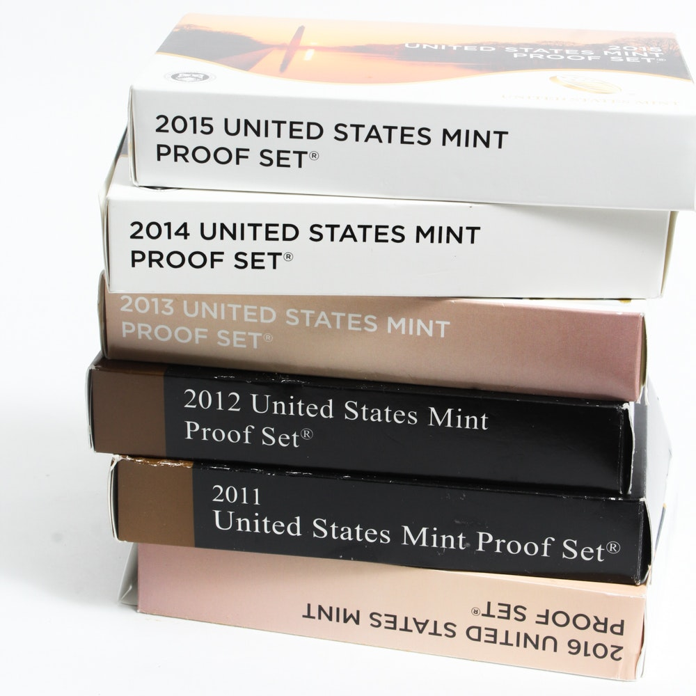 United States 2010's Mint Proof Sets