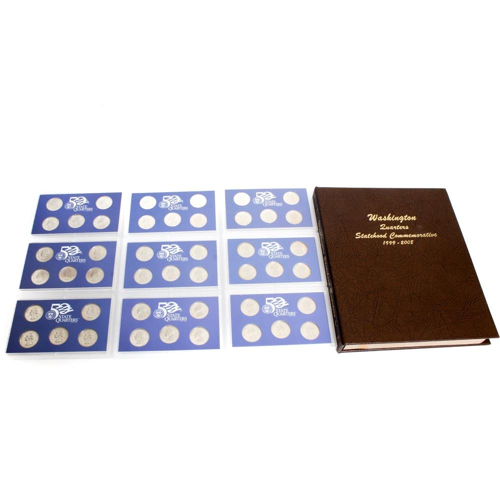 United States Statehood Quarters Complete Binder and Proof Sets