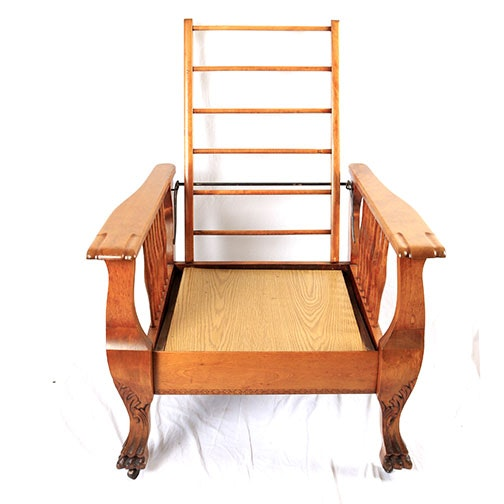 William Morris Mission Style Oak Chair