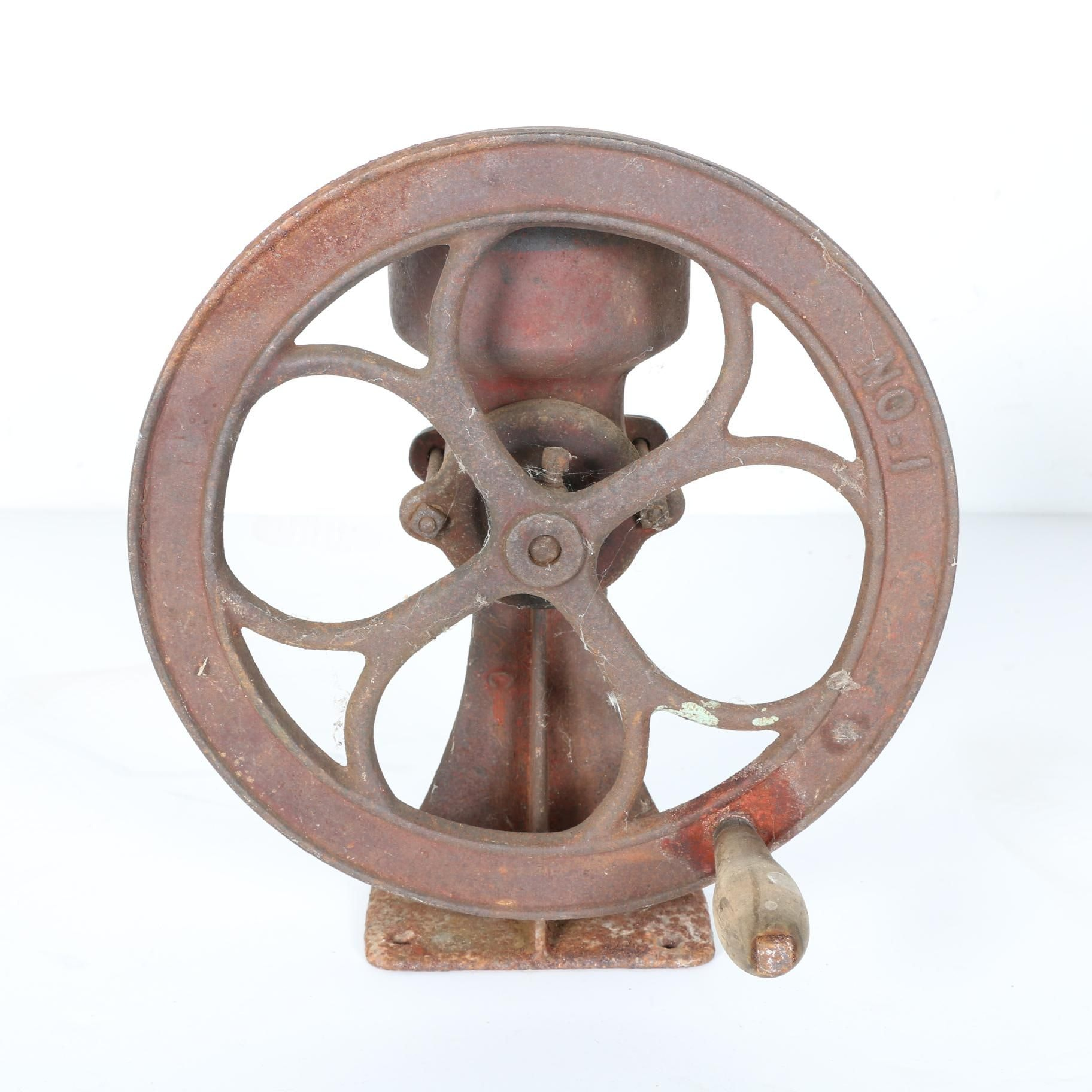 Antique Cast Iron Grinding Wheel
