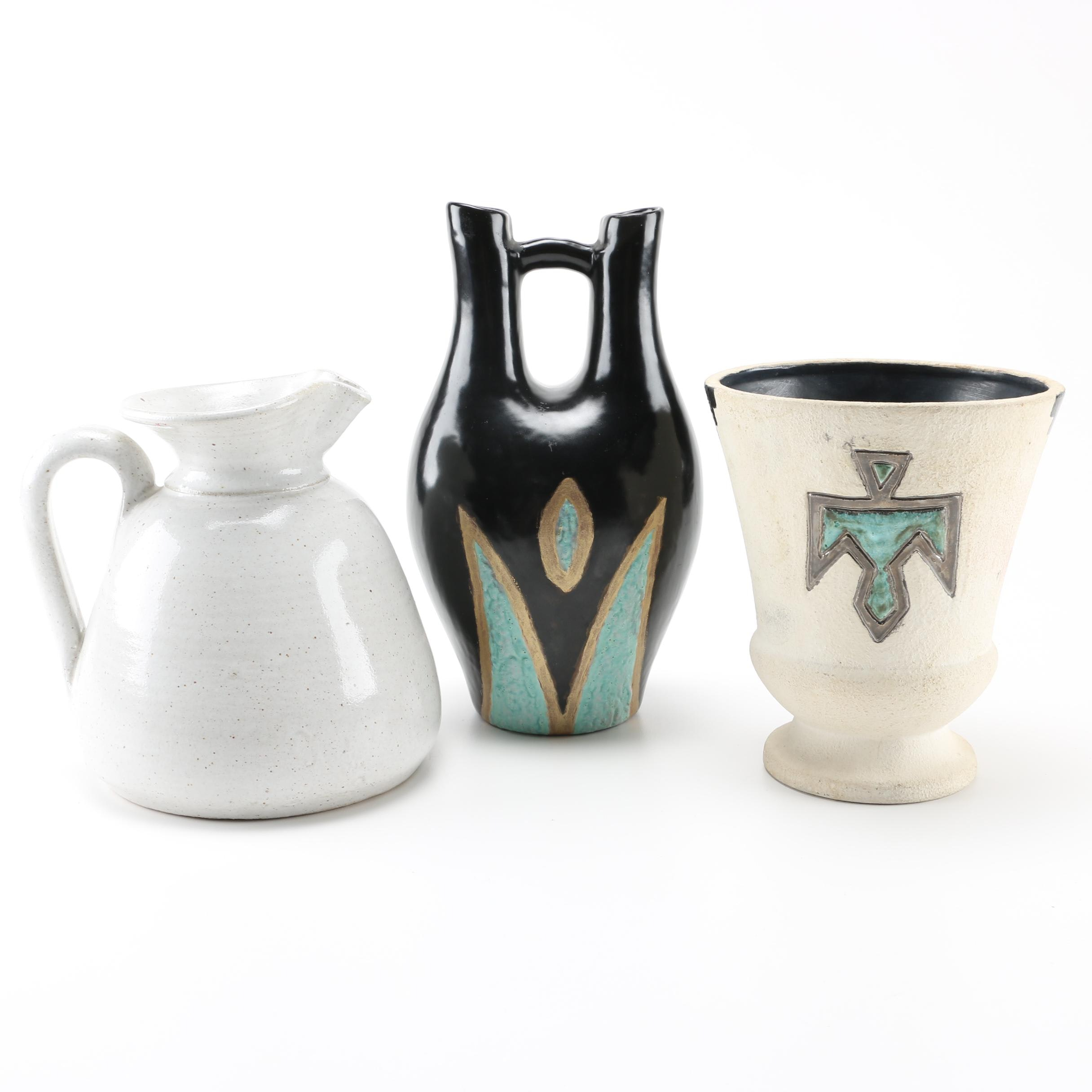 Art Pottery Assortment