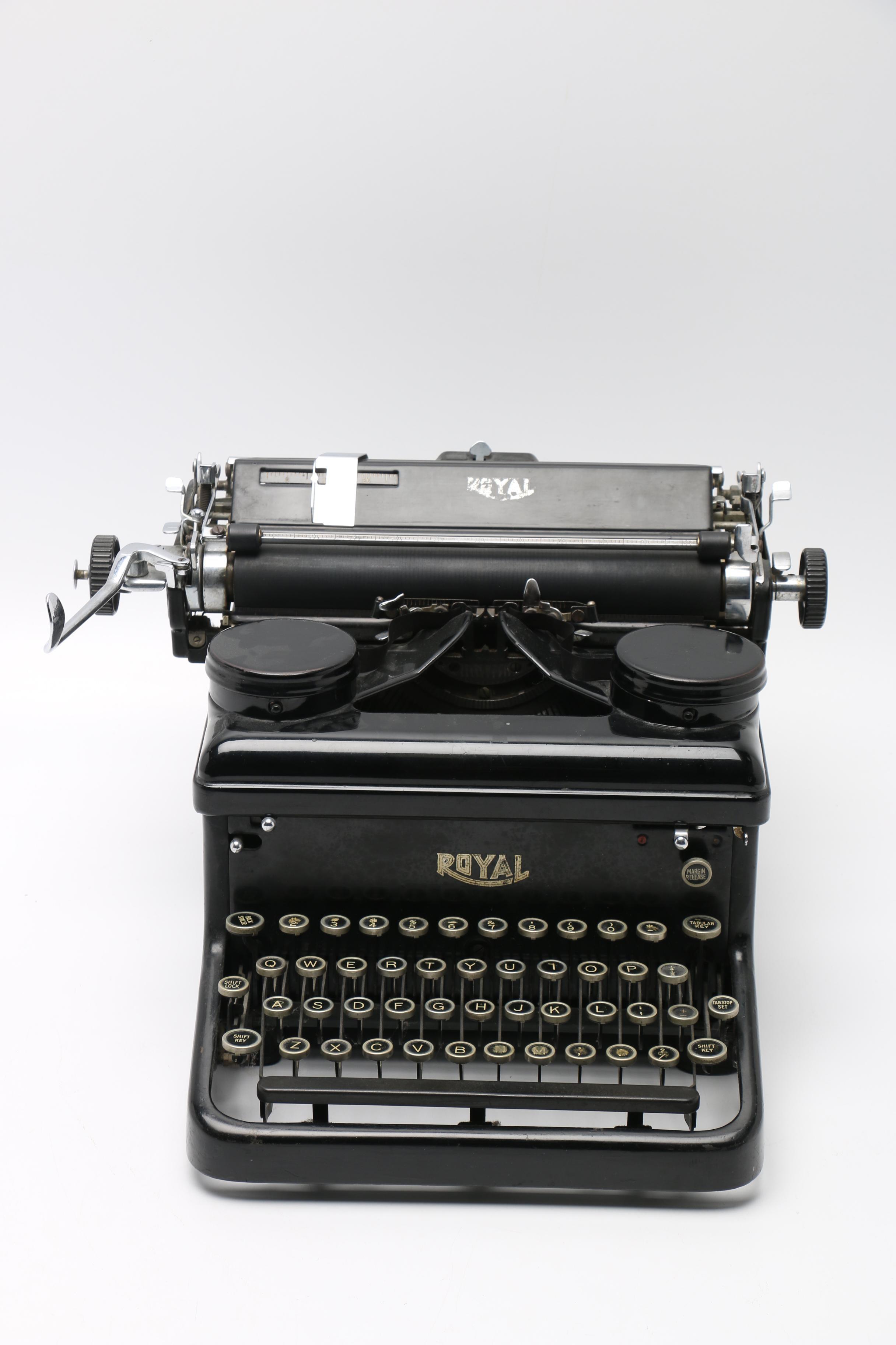 Circa 1935 Royal Typewriter