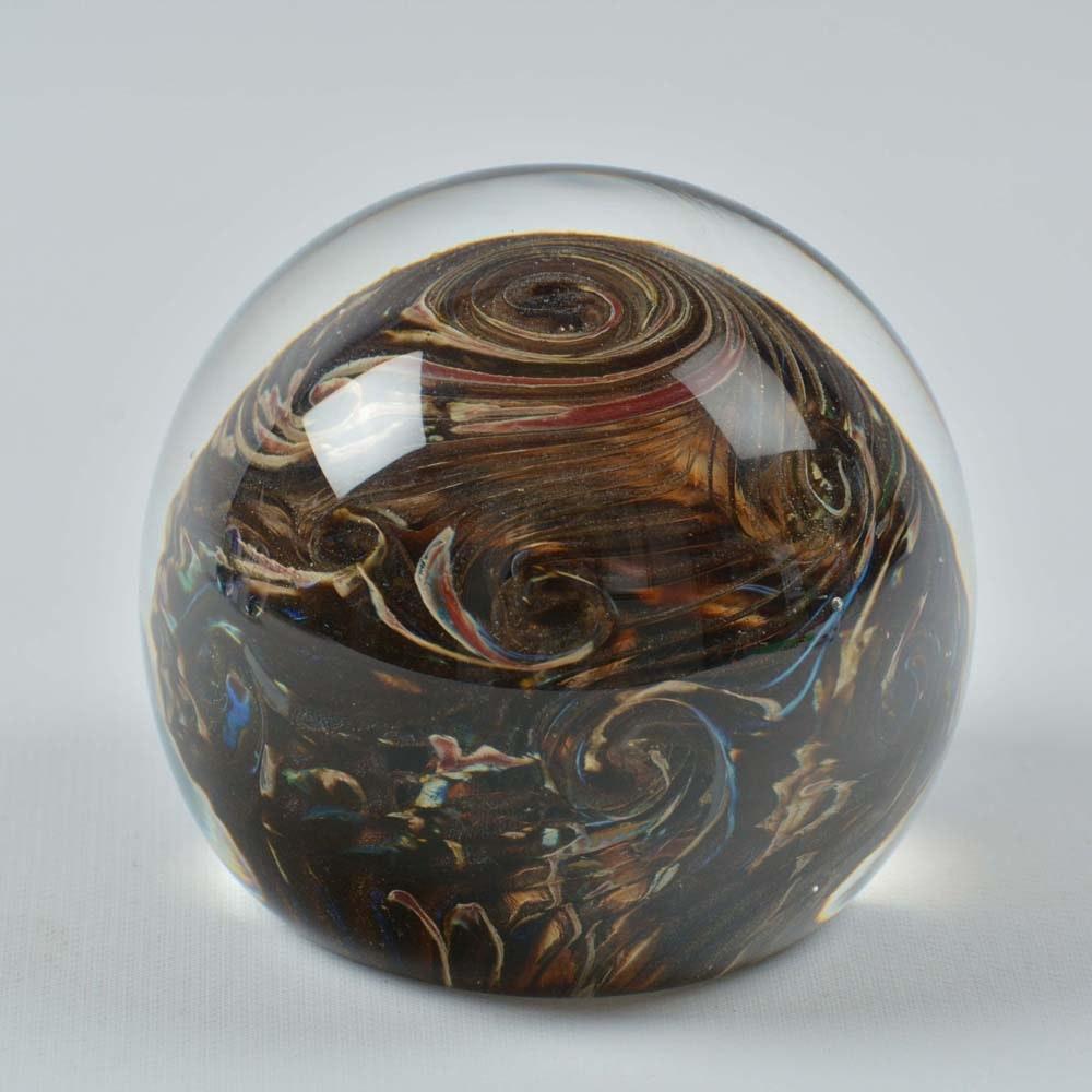 Belleau Art Glass Paperweight