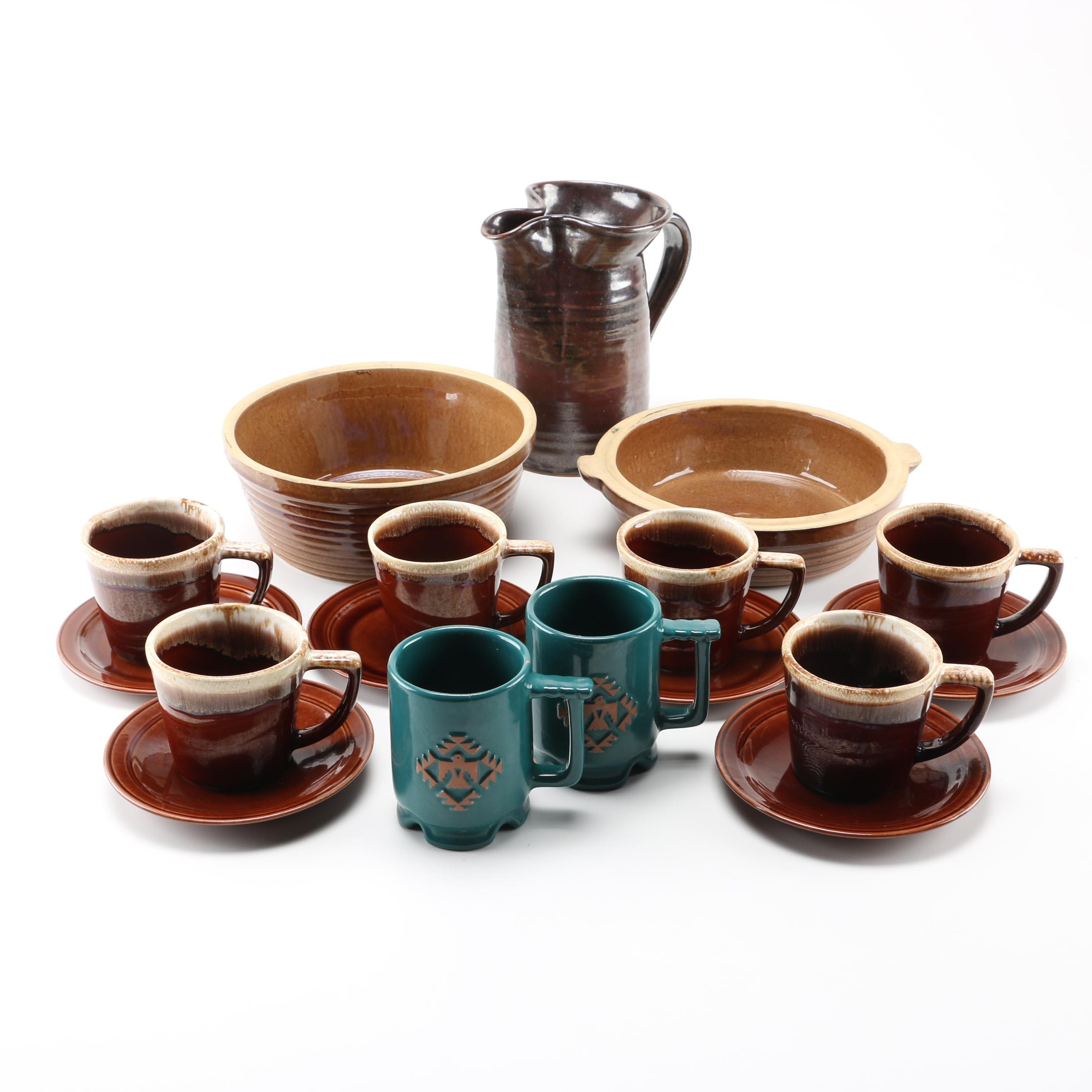Tableware Pottery Including Vernonware and Frankoma