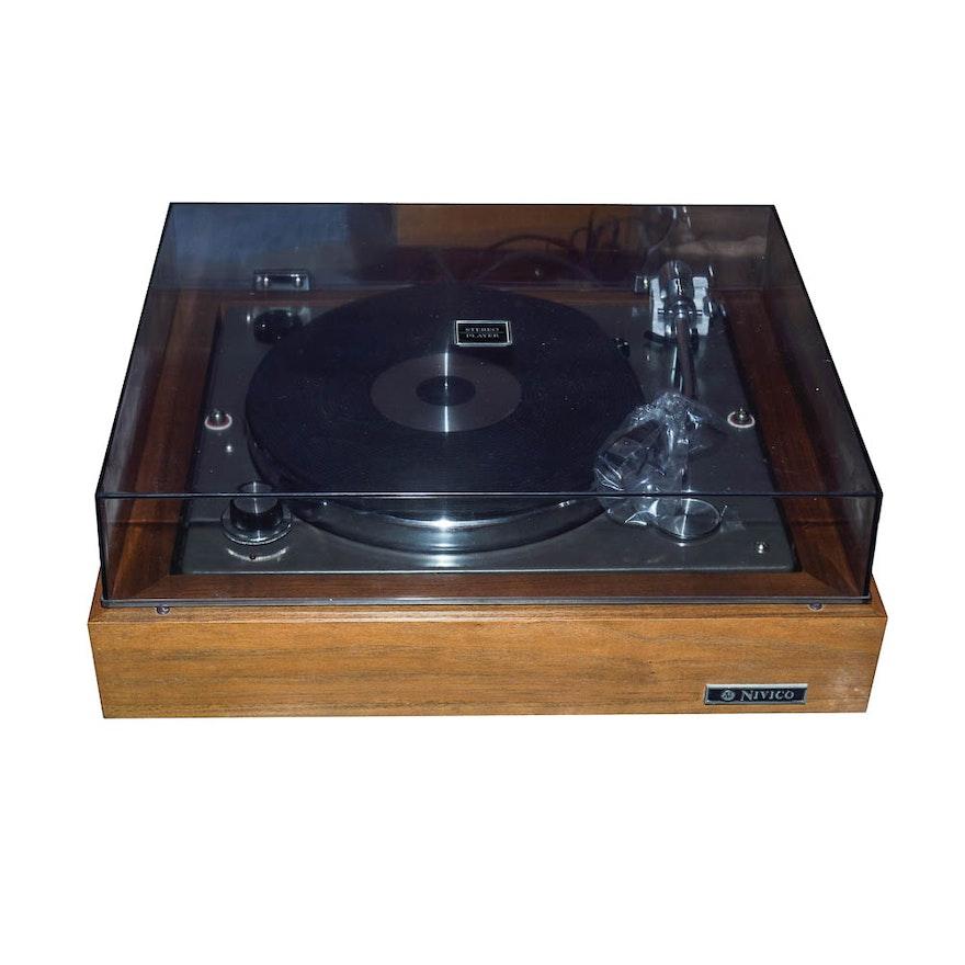 Nivico Stereo Record Player