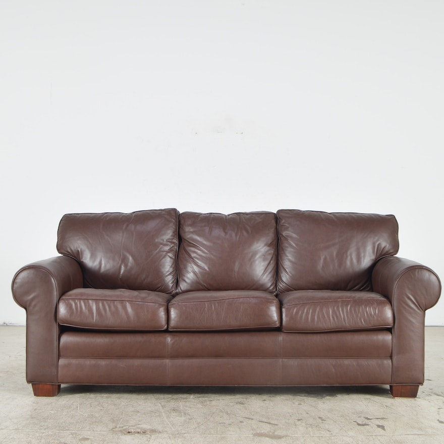 Cibola Leather Couch #KA66