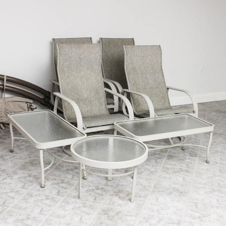 Winston Patio Furniture Set Ebth