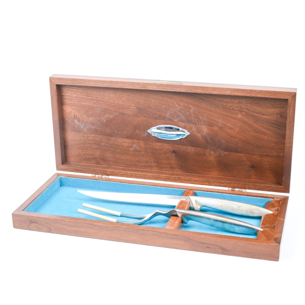 Towle Silversmiths Carving Set